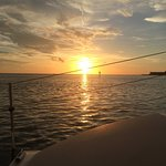 Perfect sunset cruise...thanks to Captain Eddie for a great time.