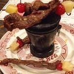 Beef sticks at House of China in Dubuque