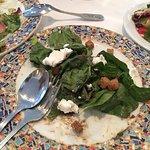 Salada de espinafre