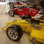 Several Penske cars