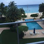 This is the view from our room