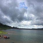 Hermosa tarde en la Laguna del Arenal