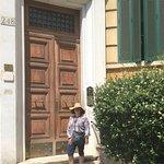 BBSuites Trastevere's front door.