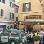 Carlomenta, for great dining. Try the Panna Cotta and Limoncello at €3 each. Amazing!