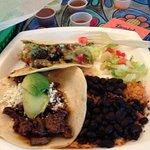 Taco delete blue plate