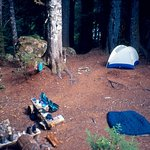 Campsite at base