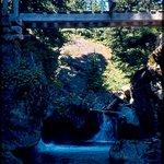 Bridge near falls
