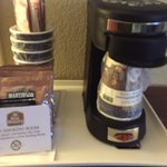 Early morning coffee options, BEST WESTERN Strathmore Inn, Strathmore, Alberta