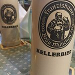 Kellerbier, first time for us.