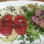 Salade de l'hippocampe et fraîcheur d'été