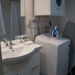 Bathroom, with Washing machine and Dryer