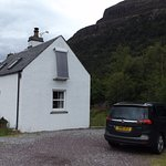 The small cottage - with more than enough parking space
