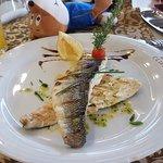Fine dining fish...