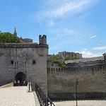 Palais des Papes et Cathédrale Vus duPont Saint Bénézet