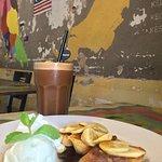 Terengganu Coffee and Gula melaka on toast