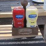 Snack Alanı, En kaliteli soslar kullanılıyor