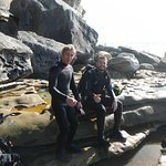 With Cody (Dive Master)