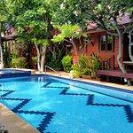 The beautiful Ruen Kanok resort.