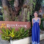 The beautiful Ruen Kanok resort.