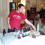 craft beer tasting, Riverside Hotel, Killarney, July 2016