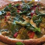 Green Stripe pizza.