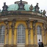 Schloss Sanssouci Rückseite