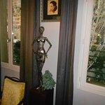 La sculture de Madame, du créateur Phillipon.