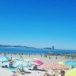 Un domingo veraniego en esta hermosa playa de la zona de vigo. Se esta estupendo