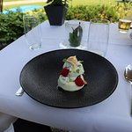 Exquisite deserts on the terrace