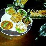 Turkish mezze and sushi