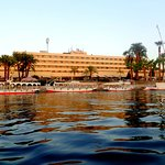 A look at the hotel from the river Nile...