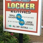 Watch those locker prices!