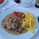 Fantastic hamburger and amazing entrecote steak