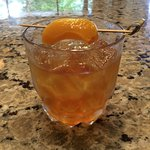 Pickled Peach Old-Fashioned Smash