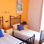 Twin bed Rooms to garden and city side