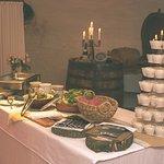 Teil des Buffets © Woody T. Herner - Woodworks -