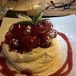 Lush Strawberry and Raspberry Pavlova