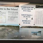 Overview of Bar Island - some good advice!