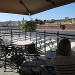 Nice terrace with view of Arno!