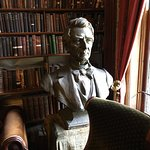 Bust of William Seward inlibrary