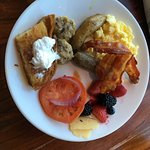 Ok, breakfast buffet is expensive. Now that that is over, it's also probably the best hotel brea