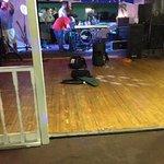 Dance floor in Hula's.