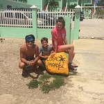 This is our family's favorite rock on Bonaire because of the awesome hospitality and great memor
