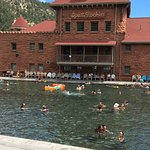 Glenwood Hot Springs Pool Foto