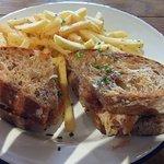 Catalana toasted sandwich.