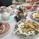 Heerlijke tea en crêpes!! Mooie tuin! Echt een aanrader