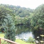 Lovely riverside setting