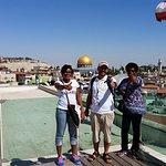 Visite de Jerusalem en francais pour des touristes  de Martinique!