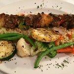 Lamb Souvlaki - ordered it medium and it was perfect!