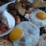 Huevos Rancheros....an amazing dish here at Colby's.